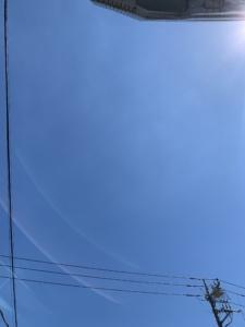 パキッと青空